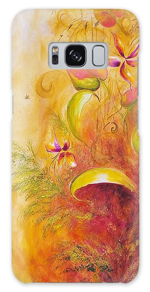 Memories Of Paradise II Galaxy Case by Dina Dargo