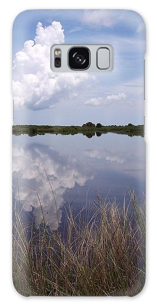 Merritt Island Fl Reflections Wildlife Preserve Galaxy Case by Rebecca Overton