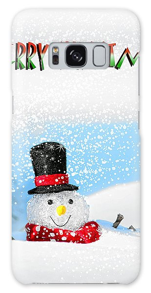 Merry Christmas Galaxy Case by Billie-Jo Miller