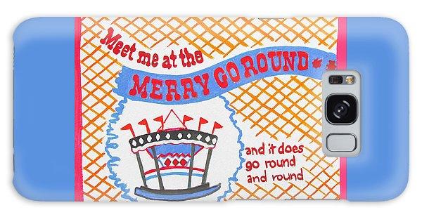 Merry Go Round Galaxy Case by Beth Saffer