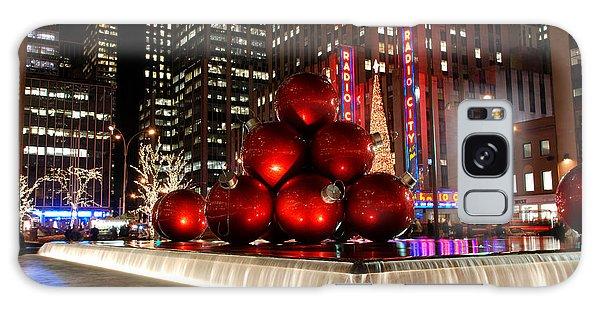 Merry New York City Christmas Galaxy Case