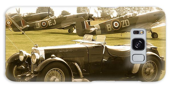 Mg And Spitfires Galaxy Case by John Colley