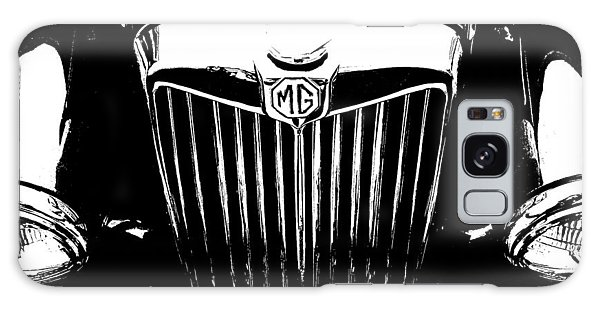 Mg Grill Black And White Galaxy Case