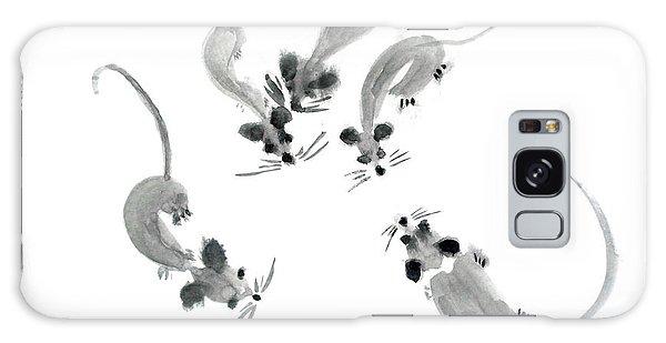 Mice - Sumie Style Galaxy Case