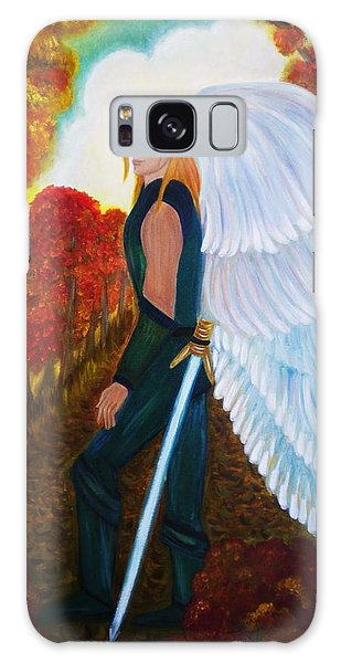 Michael - Michael Archangel Series By Yesi Casanova Galaxy Case