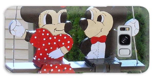 Mickey And Minnie Mouse Galaxy Case