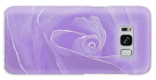 Micro Lavender Rose Galaxy Case
