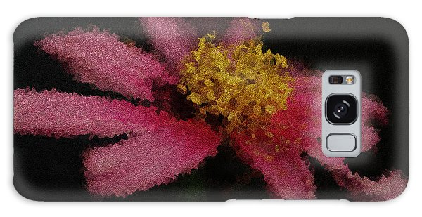 Midnight Bloom Galaxy Case by Lauren Radke