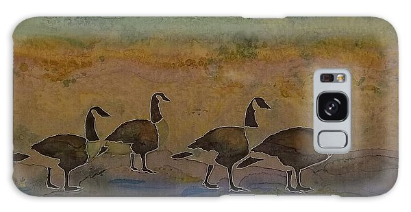 Migration Series Geese 2 Galaxy Case