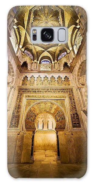 Mihrab And Ceiling Of Mezquita In Cordoba Galaxy Case