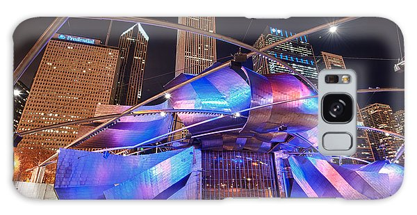 Galaxy Case featuring the photograph Millennium Park by Sebastian Musial