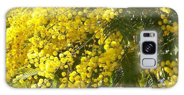 Mimosas Galaxy Case by Sylvie Leandre