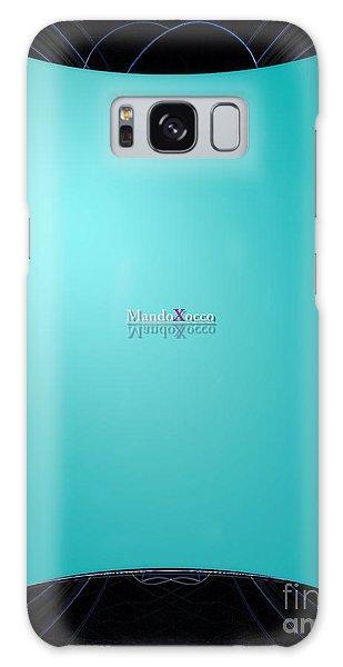 Mint Side Galaxy Case