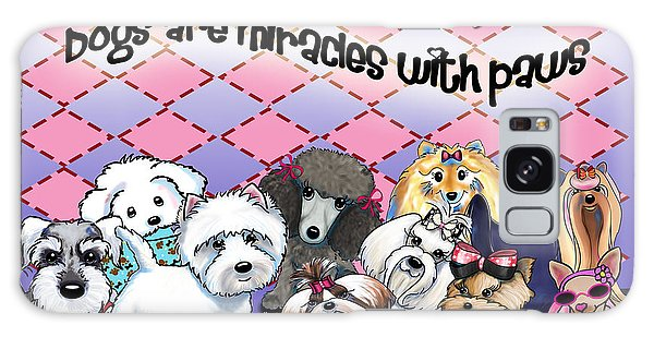 Miracles With Paws Galaxy Case