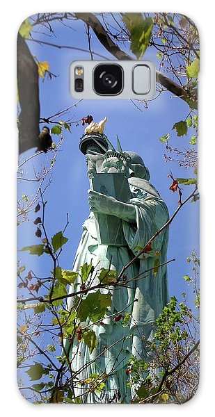 Miss Liberty Galaxy Case by Paul Mashburn