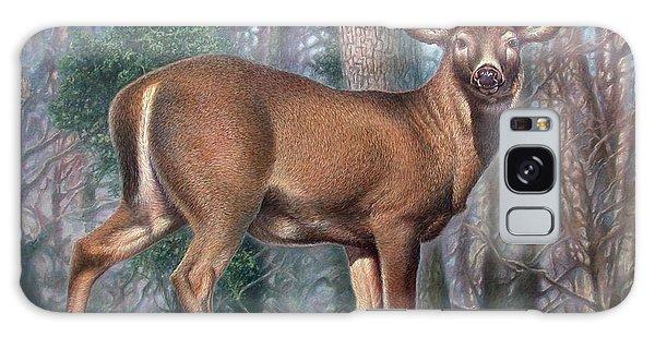 Missouri Whitetail Deer Galaxy Case