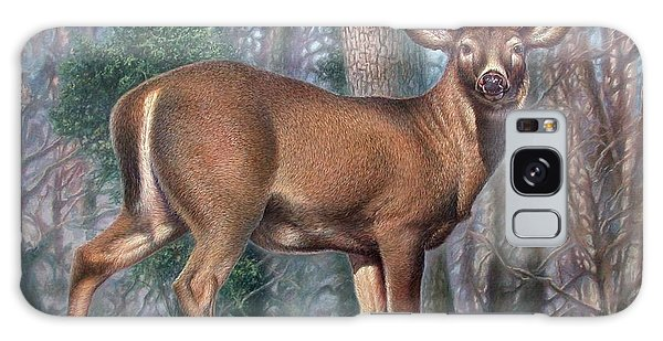 Missouri Whitetail Deer Galaxy Case