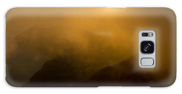 Misty Hongpo Sunset South Korea Galaxy Case by Gabor Pozsgai