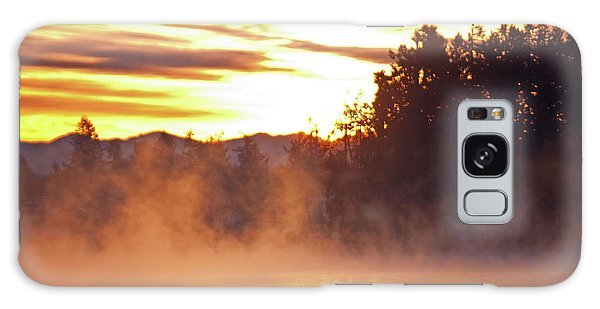 Misty Sunrise Galaxy Case by Tikvah's Hope
