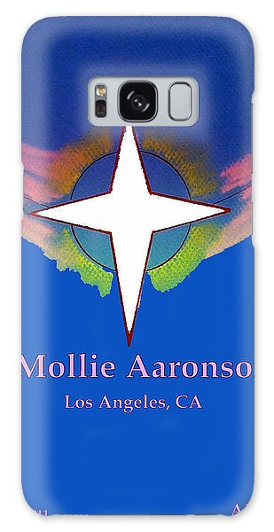 Mollie Aaronson Galaxy Case by Ahonu