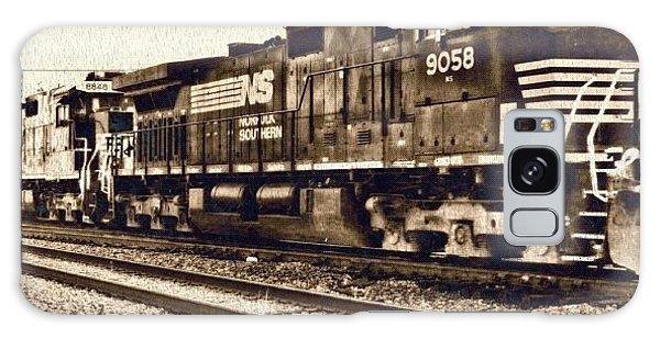Edit Galaxy Case - Monochrome Rail by Mari Posa