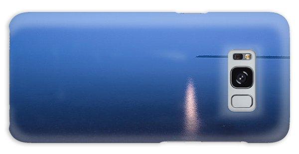 Moonrise On Lake Superior Galaxy Case