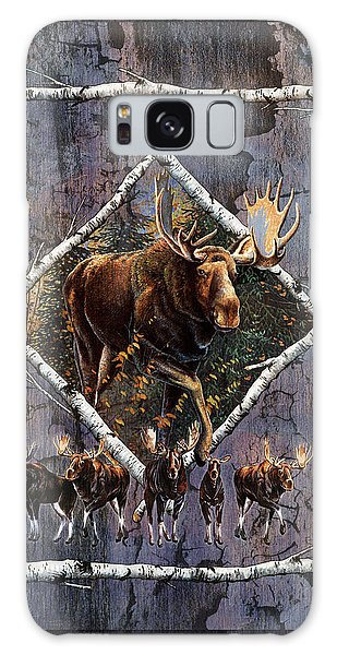 Antlers Galaxy Case - Moose Lodge by JQ Licensing