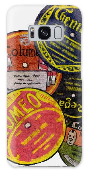 Vintage Galaxy Case - More Old Record Labels  by Mel Thompson