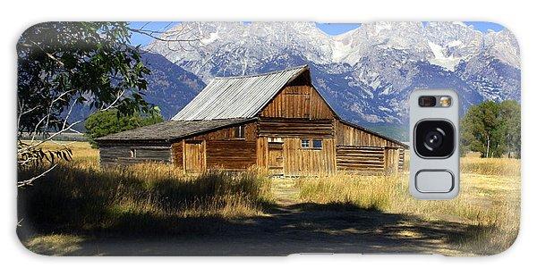 Mormon Row Barn Galaxy Case