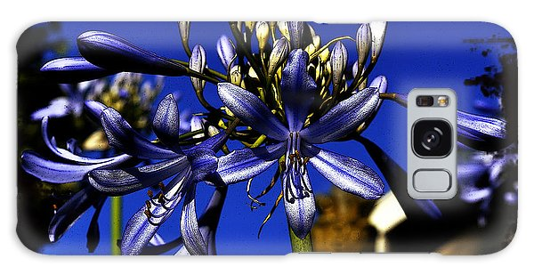 Morning Blooms Galaxy Case by Clayton Bruster