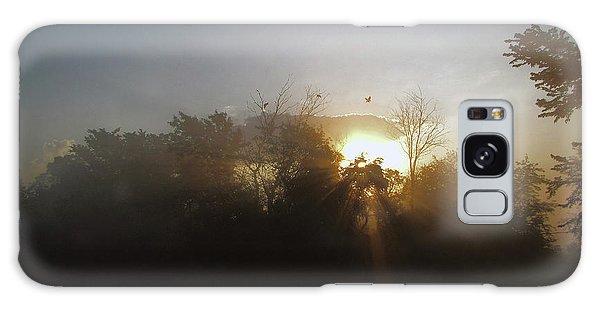 Morning Flight 1 Galaxy Case by Cedric Hampton
