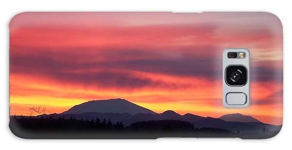 Morning Glow Galaxy Case by Chalet Roome-Rigdon