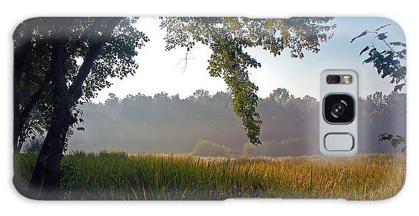Morning On The River Galaxy Case by Kay Lovingood