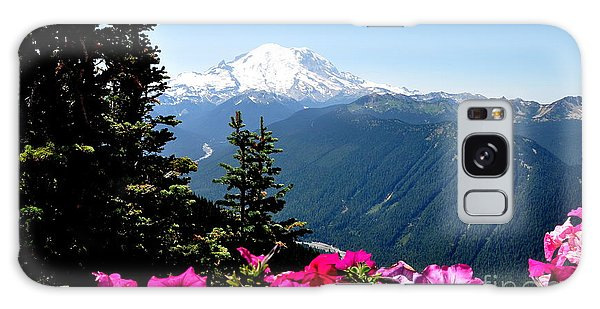Mount Rainier Seen From Crystal Mountain Summit  5 Galaxy Case