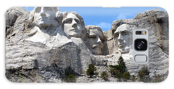 Lincoln Memorial Galaxy Case - Mount Rushmore Usa by Olivier Le Queinec