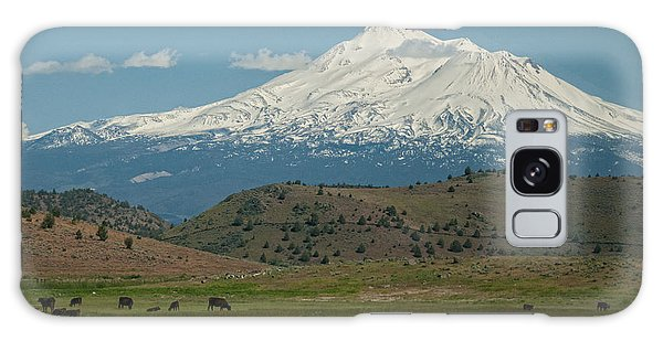 Mount Shasta Galaxy Case