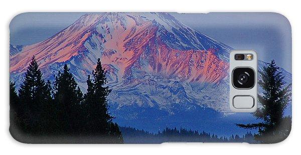 Mount Shasta Winterlight Galaxy Case by Mick Anderson