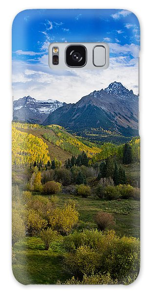 Mount Sneffels Under Autumn Sky Galaxy Case by Greg Nyquist