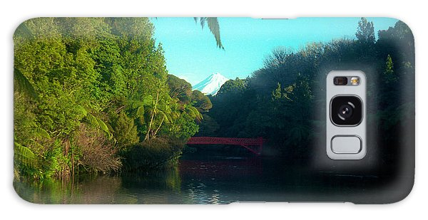 Mount Taranaki Aka Mt Egmont New Zealand Galaxy Case