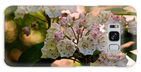 Mountain Laurel Flowers 2 Galaxy Case