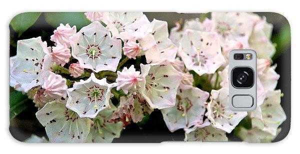 Mountain Laurel Flowers Galaxy Case