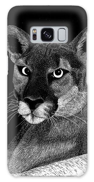 Mountain Lion Galaxy Case by Kume Bryant