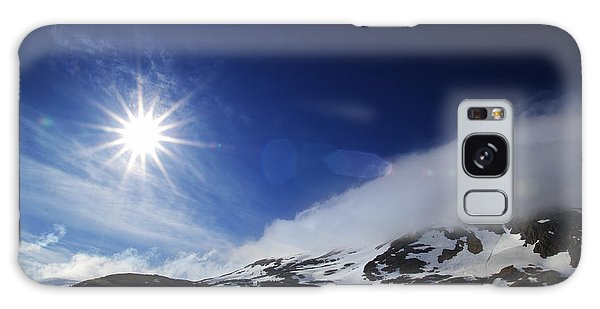 Mountain Sun Galaxy Case