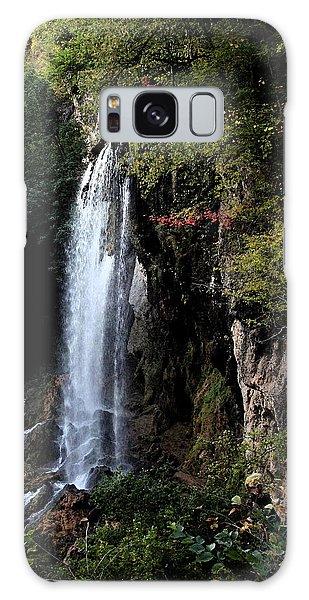 Mountain Waterfall Galaxy Case