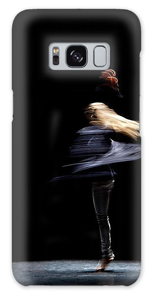 Moved Dance. Galaxy Case by Raffaella Lunelli