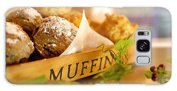 Muffins Fresh And Warm Galaxy Case