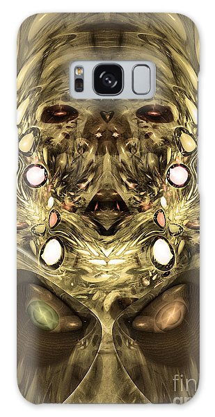 Mummy - Abstract Digital Art Galaxy Case