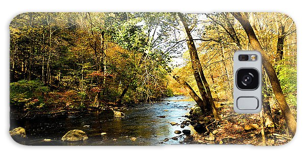 Musconetcong River Galaxy Case
