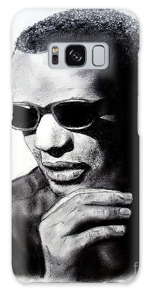 Music Legend Ray Charles Galaxy Case by Jim Fitzpatrick