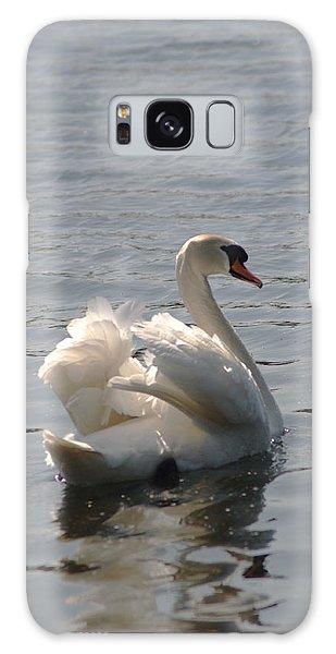 Mute Swan Galaxy Case